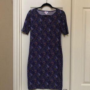 Fitted Lularoe Julia dress